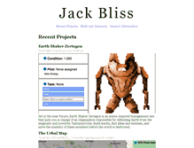 Tablet Preview of jackbliss.co.uk